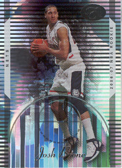 2006-07 Bowman Elevation #107 Josh Boone RC
