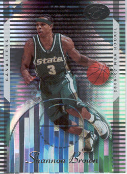 2006-07 Bowman Elevation #130 Shannon Brown RC