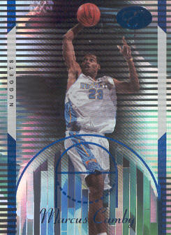 2006-07 Bowman Elevation Blue #6 Marcus Camby