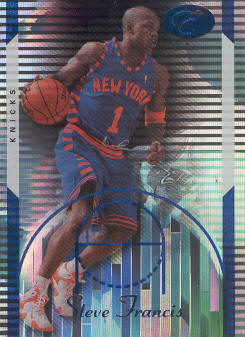 2006-07 Bowman Elevation Blue #29 Steve Francis