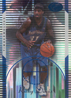 2006-07 Bowman Elevation Blue #35 Ricky Davis