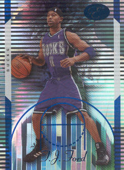 2006-07 Bowman Elevation Blue #41 T.J. Ford
