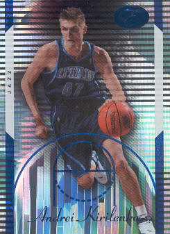 2006-07 Bowman Elevation Blue #43 Andrei Kirilenko