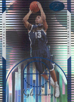2006-07 Bowman Elevation Blue #116 Kyle Lowry