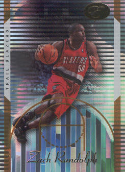 2006-07 Bowman Elevation Gold #70 Zach Randolph