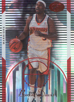 2006-07 Bowman Elevation Red #5 Baron Davis