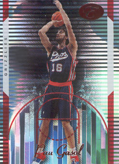 2006-07 Bowman Elevation Red #33 Pau Gasol