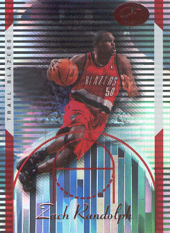 2006-07 Bowman Elevation Red #70 Zach Randolph