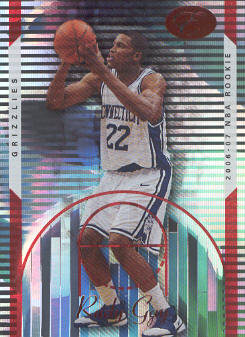 2006-07 Bowman Elevation Red #100 Rudy Gay