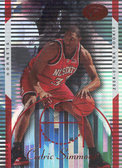 2006-07 Bowman Elevation Red #121 Cedric Simmons