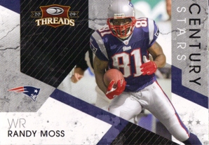 2009 Donruss Threads Century Stars #15 Randy Moss