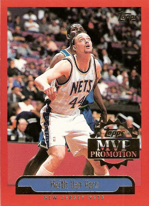 1999-00 Topps MVP Promotion #200 Keith Van Horn