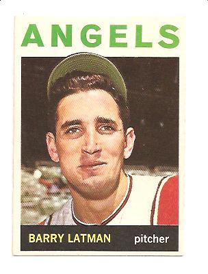 1964 Topps #227 Barry Latman