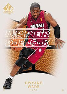 2007-08 SP Authentic #64 Dwyane Wade