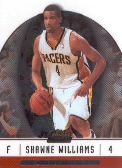 2006-07 Finest #92 Shawne Williams RC