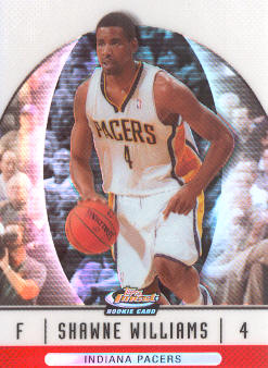 2006-07 Finest Refractors #92 Shawne Williams