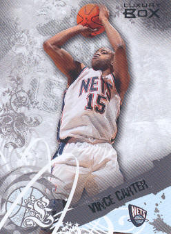 2006-07 Topps Luxury Box #6 Vince Carter
