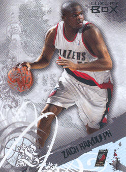 2006-07 Topps Luxury Box #17 Zach Randolph
