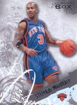 2006-07 Topps Luxury Box #19 Stephon Marbury