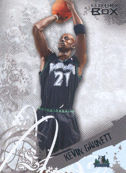 2006-07 Topps Luxury Box #21 Kevin Garnett