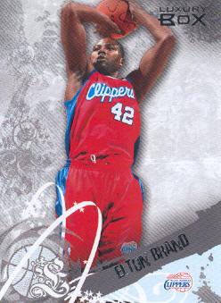 2006-07 Topps Luxury Box #30 Elton Brand
