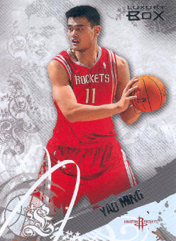 2006-07 Topps Luxury Box #38 Yao Ming