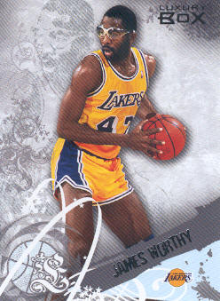 2006-07 Topps Luxury Box #49 James Worthy