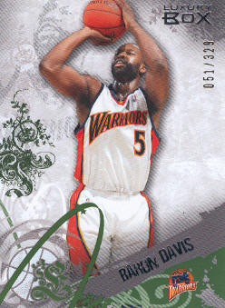 2006-07 Topps Luxury Box Green #26 Baron Davis