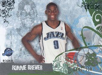 2006-07 Topps Luxury Box Green #93 Ronnie Brewer