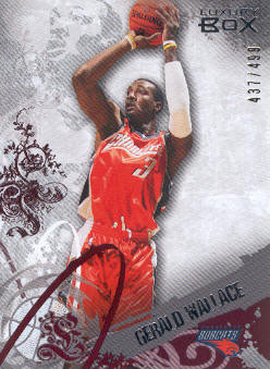 2006-07 Topps Luxury Box Red #36 Gerald Wallace