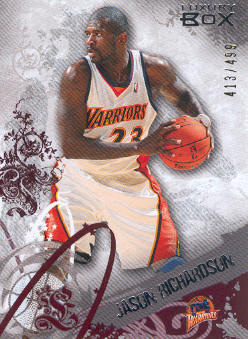 2006-07 Topps Luxury Box Red #37 Jason Richardson