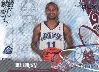 2006-07 Topps Luxury Box Red #63 Dee Brown