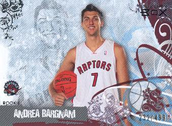 2006-07 Topps Luxury Box Red #77 Andrea Bargnani
