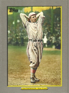 2009 Topps Turkey Red #TR30 Christy Mathewson