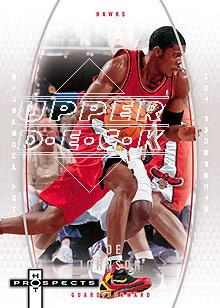 2006-07 Fleer Hot Prospects #1 Joe Johnson