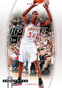 2006-07 Fleer Hot Prospects #2 Marvin Williams