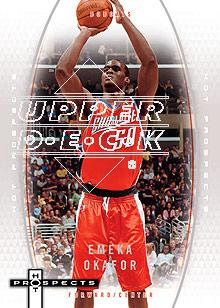 2006-07 Fleer Hot Prospects #6 Emeka Okafor