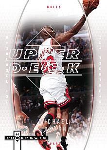 2006-07 Fleer Hot Prospects #8 Michael Jordan