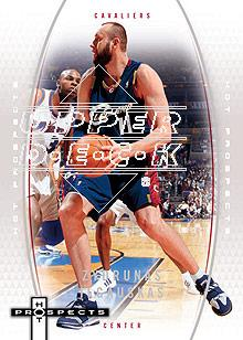 2006-07 Fleer Hot Prospects #9 Zydrunas Ilgauskas