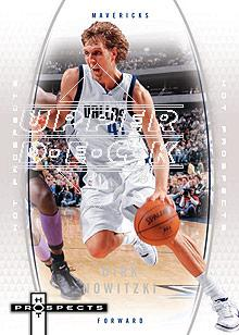 2006-07 Fleer Hot Prospects #12 Dirk Nowitzki