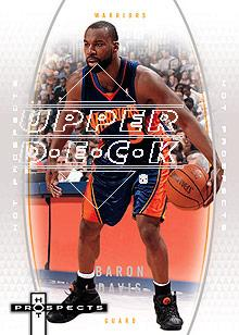2006-07 Fleer Hot Prospects #17 Baron Davis