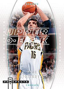 2006-07 Fleer Hot Prospects #22 Peja Stojakovic