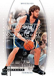 2006-07 Fleer Hot Prospects #27 Pau Gasol