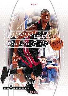 2006-07 Fleer Hot Prospects #30 Dwyane Wade