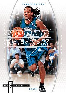 2006-07 Fleer Hot Prospects #34 Troy Hudson