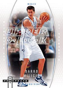 2006-07 Fleer Hot Prospects #42 Darko Milicic