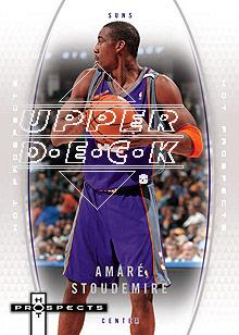 2006-07 Fleer Hot Prospects #46 Amare Stoudemire