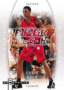 2006-07 Fleer Hot Prospects #55 Chris Bosh