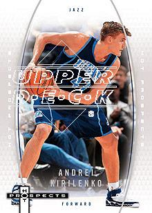 2006-07 Fleer Hot Prospects #57 Andrei Kirilenko