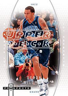 2006-07 Fleer Hot Prospects #58 Deron Williams